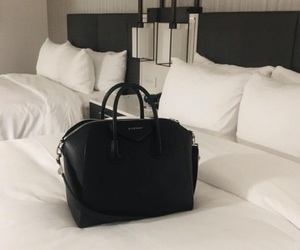 bag, black, and hotel image