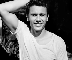 james franco, Hot, and black and white image