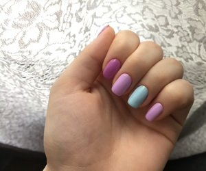 colors, mint, and nails image