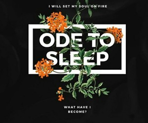 twenty one pilots, ode to sleep, and Lyrics image