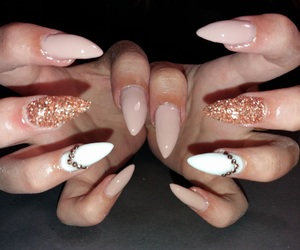 indie, pretty, and nail design image