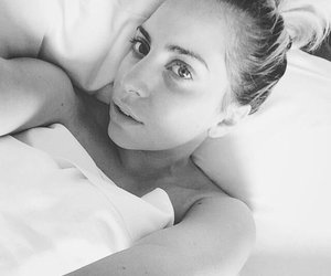 black and white, Lady gaga, and joanne image