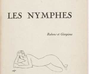 les and nymphes image