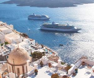 beautiful, Greece, and holidays image