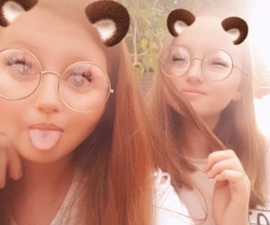 bears, snaps, and bestie image