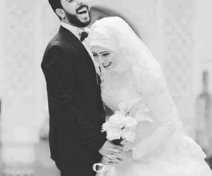 hijab, wedding, and حجاب image