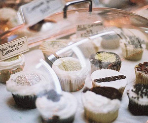 food, cupcake, and vintage image