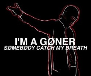 twenty one pilots, goner, and Lyrics image