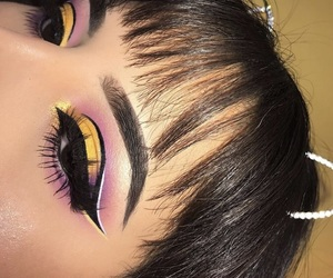 beauty, color, and eyebrows image