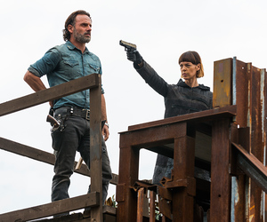 rick, the walking dead, and twd image