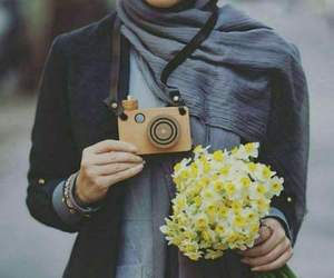 chic, hijab, and beaute image