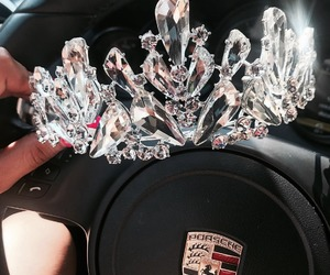 crown, car, and luxury image