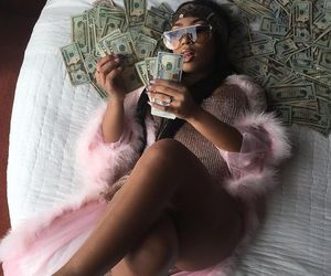money, pink, and rich image
