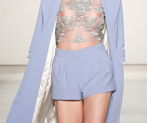 baby blue, details, and fashion image