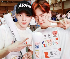 exo, baekhyun, and taeyong image