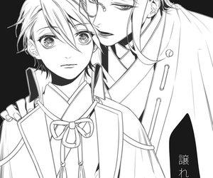 anime, saniwa, and boy image