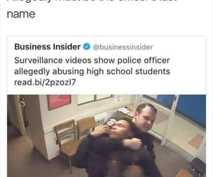 america, cop, and police brutality image