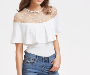 blanco, blouse, and blusa image