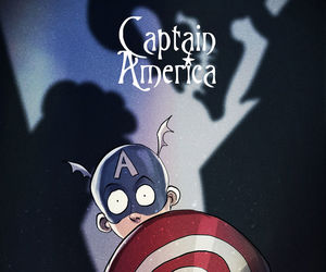 captain america, tim burton, and Marvel image