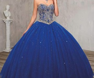 15, blue, and dresses image