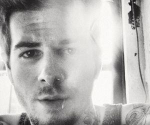 jesse rutherford, the neighbourhood, and black and white image