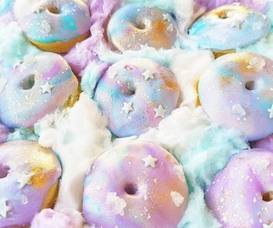 sweet, cute, and donuts image