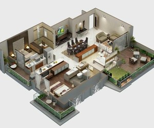 floor plans and apartment plans image