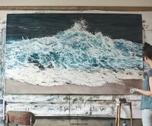 paint, water, and art image