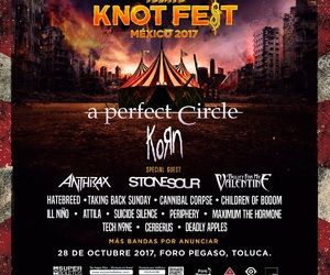 a perfect circle, stone sour, and knotfest mexico 2017 image