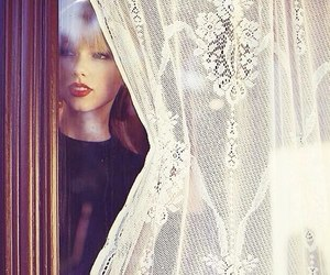 Taylor Swift, red, and photoshoot image