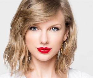 bangs, makeup, and blonde image