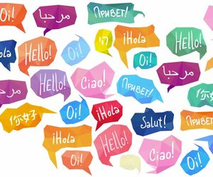 hello and languages image
