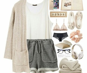 fashion, pajamas, and Polyvore image