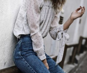 fashion, blouse, and outfit image