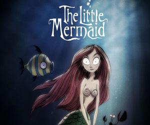 disney, tim burton, and the little mermaid image