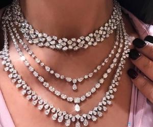 diamond, fashion, and necklace image