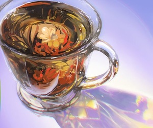 tea and art image