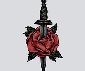 rose, wallpaper, and larry image
