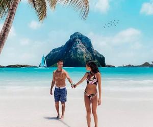 bahamas, couple, and cuddle image