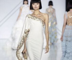 dress, embellishment, and ralph & russo image