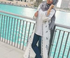 fashion, hijab, and girl image