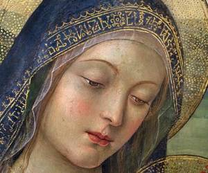 holy, Virgin Mary, and sacred art image