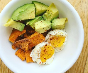 beautiful, diet, and eggs image