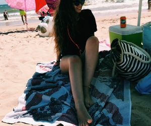 beach, summervibes, and body image