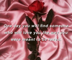 love, pink, and quotes image