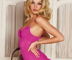pretty in pink, candice swanepoel, and i want candy image