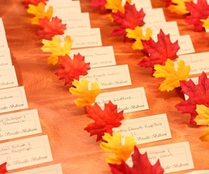 fall and wedding image