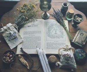 magic, witch, and book image