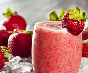 strawberry, food, and delicious image