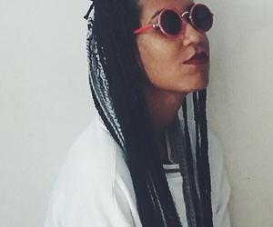 braids, negra, and blackgirl image